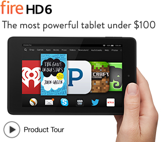Fire HD 6: quick tour