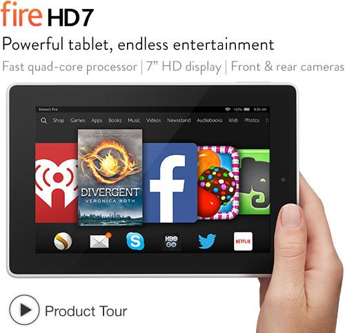 Fire HD 7: quick tour