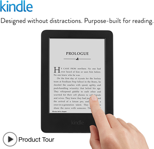 Kindle: quick tour