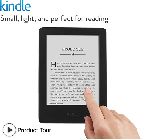 Best Price on Kindle - All New Kindle with Touch Only $49 Shipped! (Reg. $79)