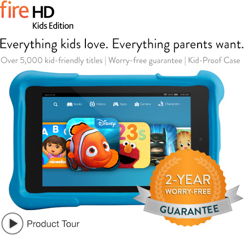 Amazon Kindle Fire HD Kids Edition Tablet