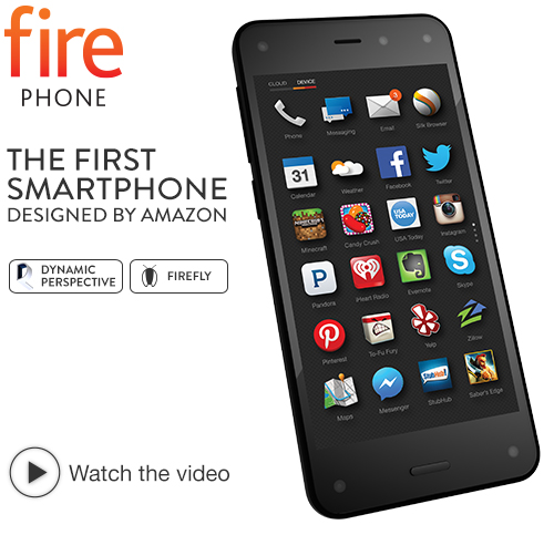 Fire - The First Smartphone By Amazon