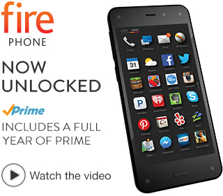 Amazon Fire Phone, 32GB, Unlocked GSM