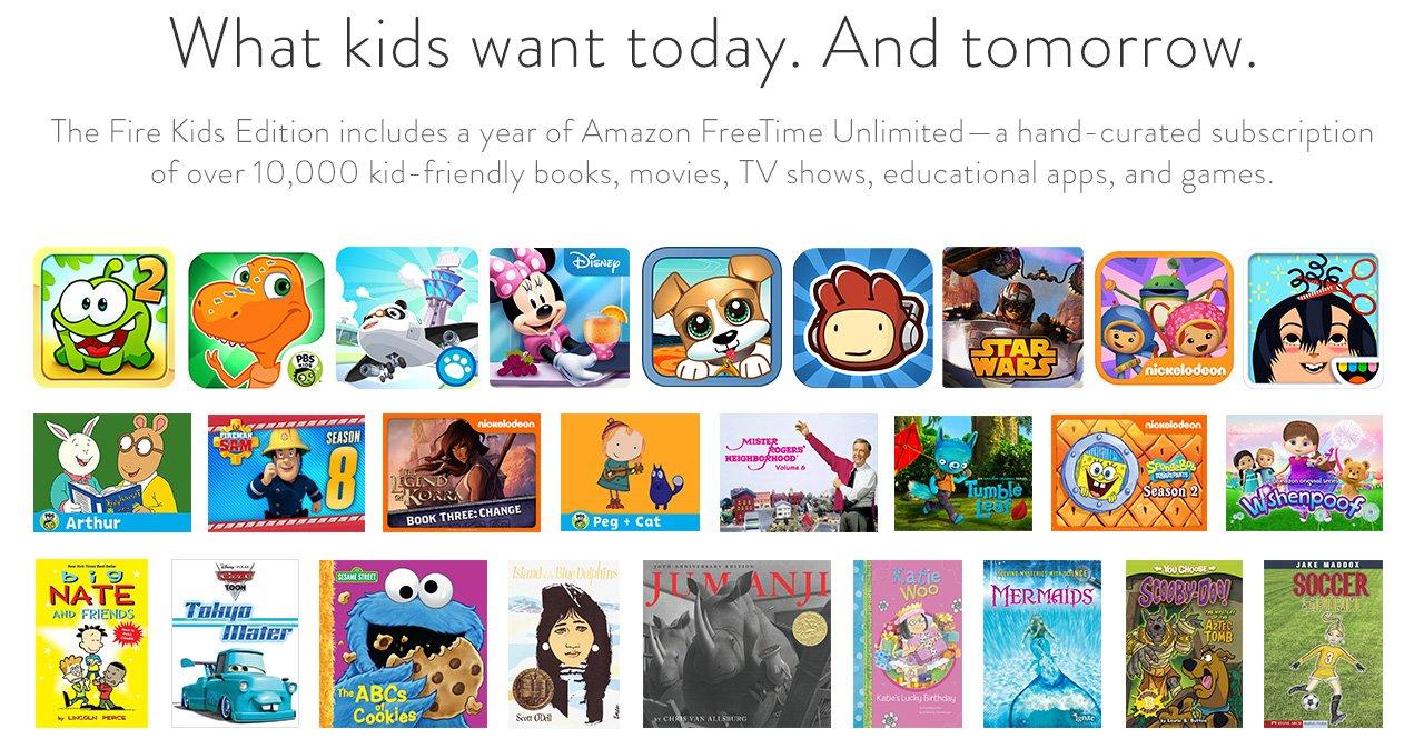 "New Fire Kids Edition Tablet (Latest Version), 7"" Display, Wi-Fi, 8 GB ...: www.ebay.co.uk/itm/New-7-Amazon-Fire-Kids-Edition-8GB-Wi-Fi-Blue..."