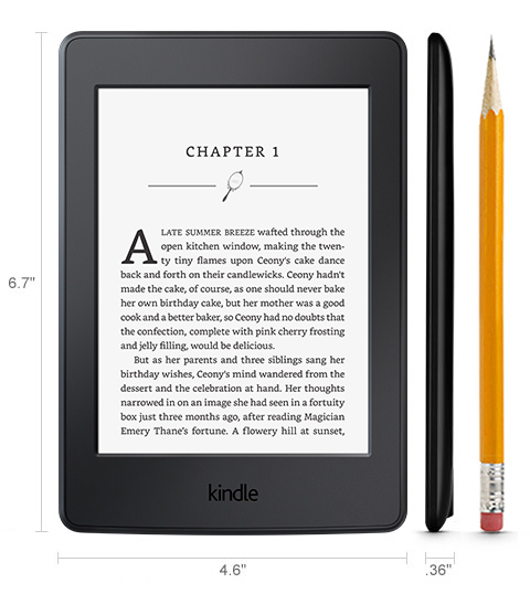 All new Kindle Paperwhite 2015