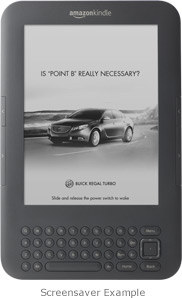 Kindle 3G with Special Offers