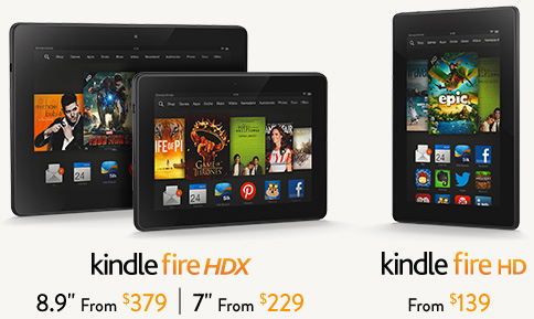 Tabletas Amazon Kindle Fire