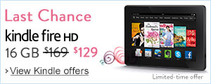 $40 Off Kindle Fire HD 16 GB