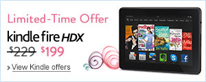 $30 Off Kindle Fire HDX