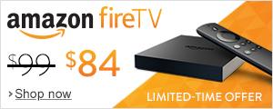 $15 off Fire TV