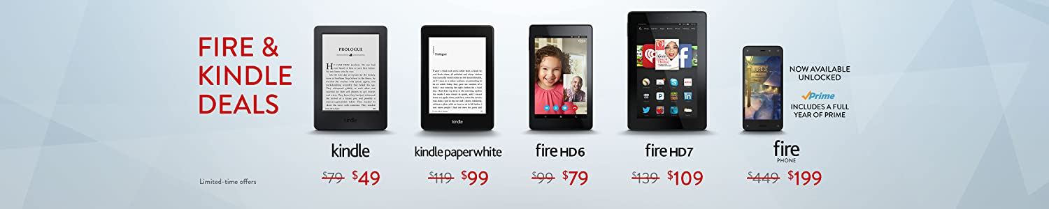 Black Friday Deals: Fire and Kindle