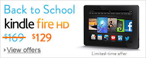 Back to School Deals: $40 off Kindle Fire HD 16GB