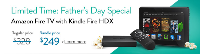 Limited-Time Father's Day Special: $79 Off Amazon Fire TV Bundled with
