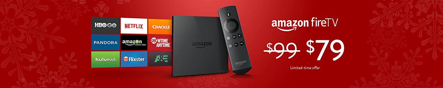 Amazon Fire TV Just $79