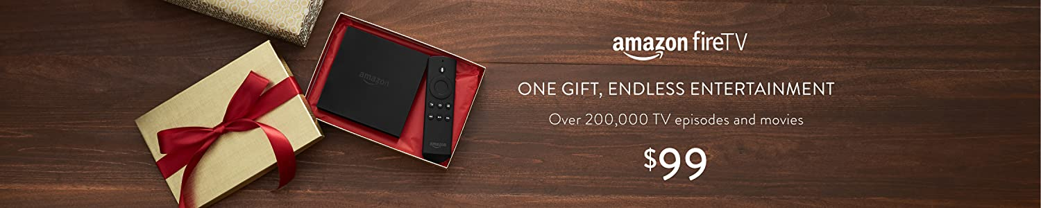 Amazon Fire TV: One Gift, Endless Entertainment