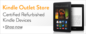 Kindle Outlet Store for Certified refurbished Kindle devices