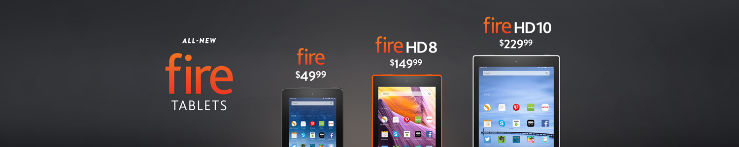 All-New Fire Tablets