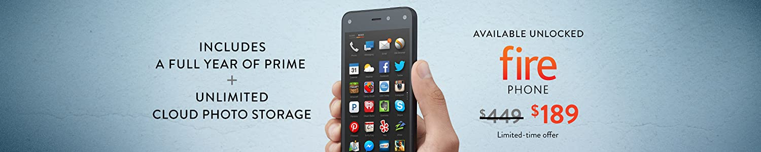 Save $260 on Fire Phone, Now Available Unlocked