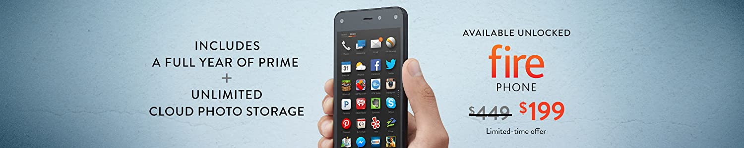 Save $250 on Fire Phone, Now Available Unlocked