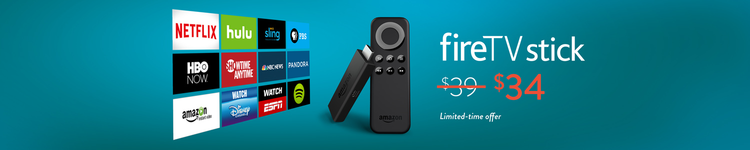 $5 Off Fire TV Stick