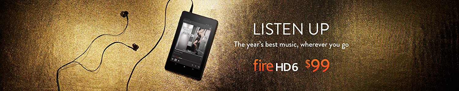 Listen to the Year's Best Music on Fire HD