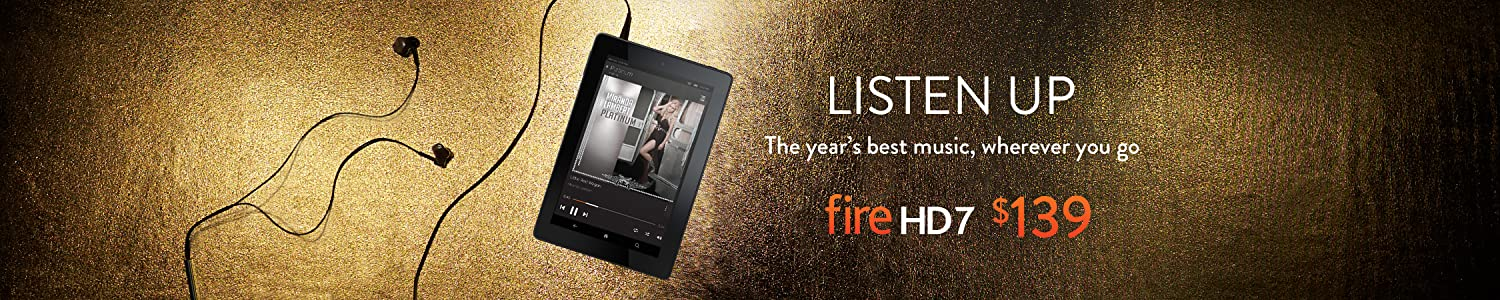 Listen to the Year's Best Music on Fire HD7