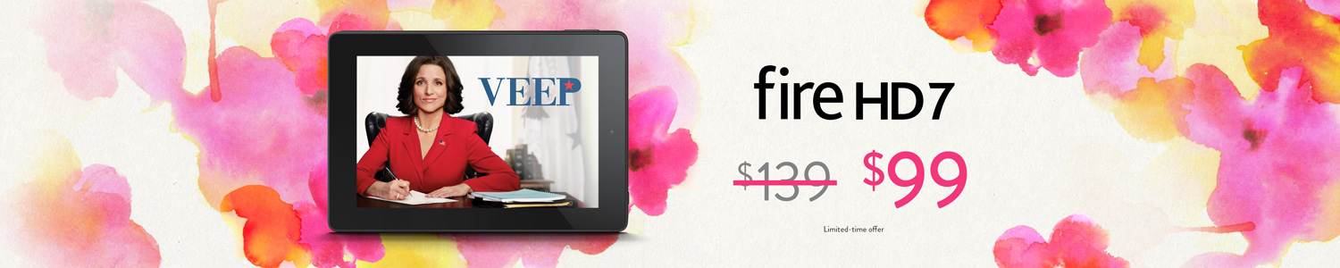 Limited-Time Only: $40 Off Fire HD 7