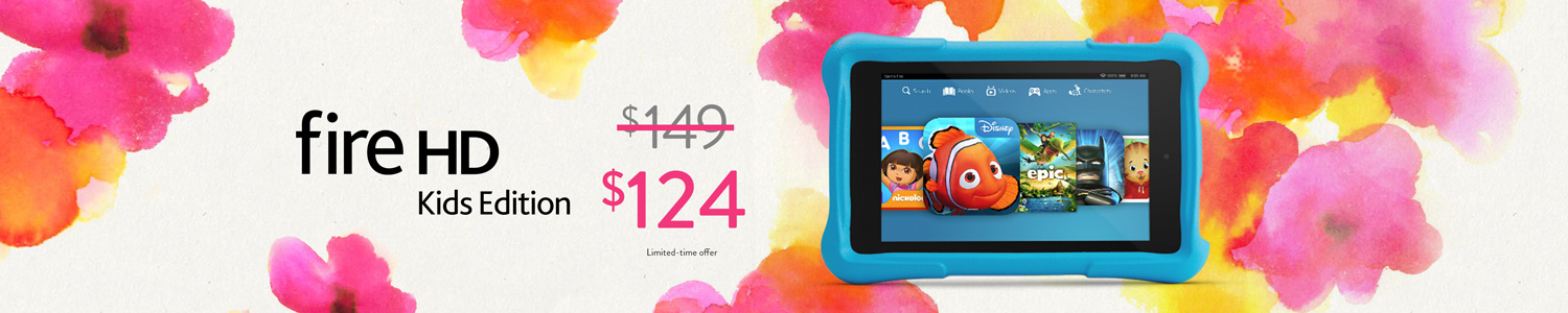 Limited-Time Only: $25 Off Fire HD 6 Kids Edition
