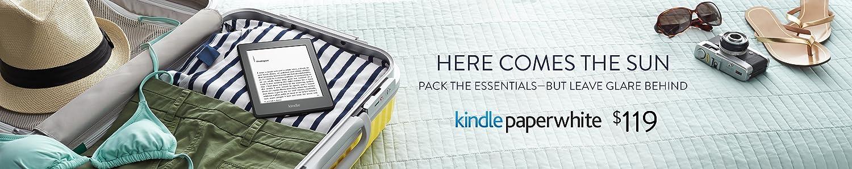 Kindle Paperwhite: Leave glare behind