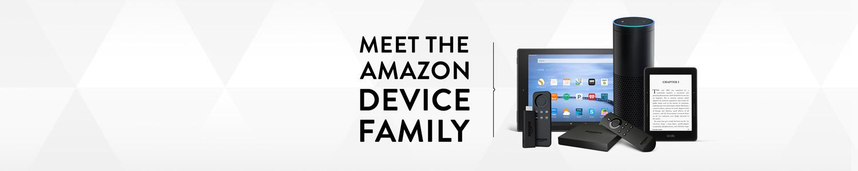 Meet the Amazon Device Family