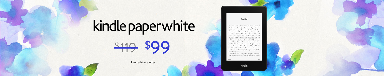 Limited-Time Offer: $20 Off Kindle Paperwhite