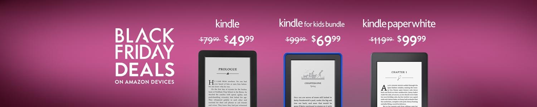 Black Friday Deals Week:  Kindle E-readers