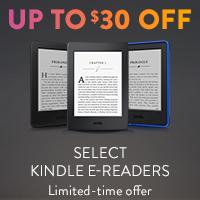 $30 off select Kindle E-Readers