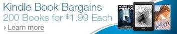 200 Kindle Book Bargains