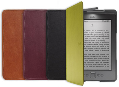 Amazon Kindle Lighted Leather Cover, Black (does not fit Kindle Touch or Kindle Keyboard)