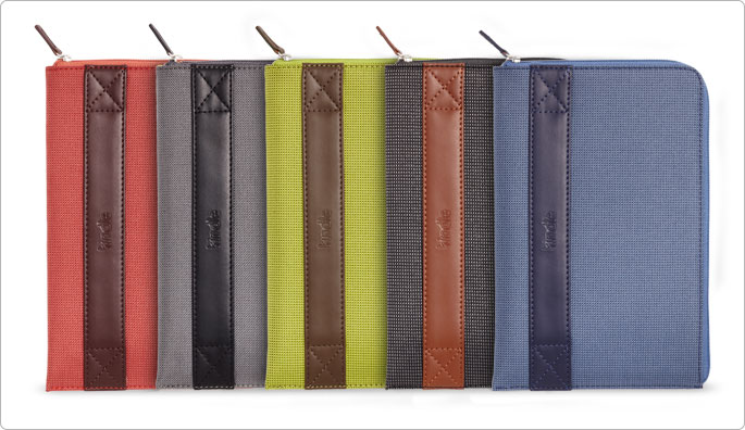 Amazon's official Kindle Fire zip sleeve comes in five colors