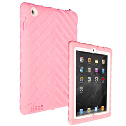 Gumdrop Cases Drop Tech Series Case for Apple Device, Pink-White Product Shot