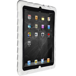 Gumdrop Cases Drop Tech Series Case for Apple Device, White-Black Product Shot