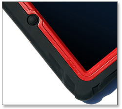 Gumdrop Cases Drop Tech Series Case for Apple Device, Red-Black Product Shot