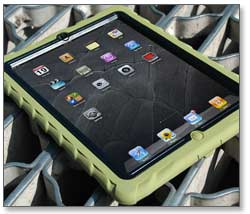 Gumdrop Drop Tech Military Edition Case for Apple Device, Army Green Product Shot