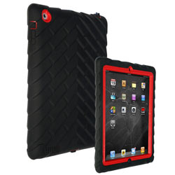 Gumdrop Cases Drop Tech Series Case for Apple Device, Black-Red Product Shot