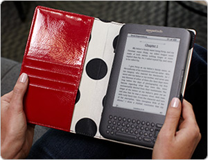 kate spade Kindle Cover Open
