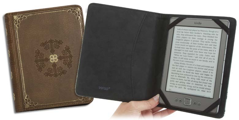 Verso Prologue Tan Cover for Kindle, Kindle Touch, and Kindle Paperwhite