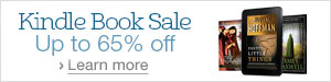 Kindle Book Sale, Up to 65% Off