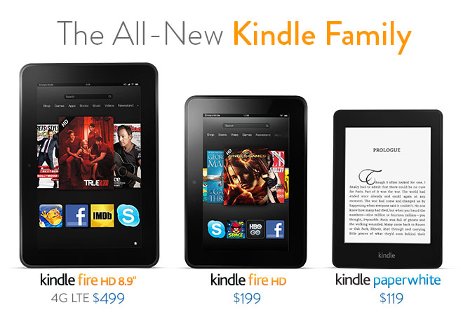 The All New Kindle Family