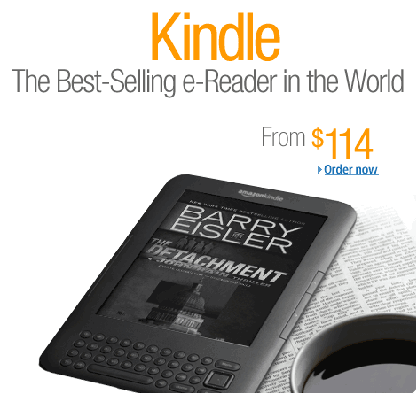 Amazon Kindle With Special Offer Is Actually A Coupon Book!