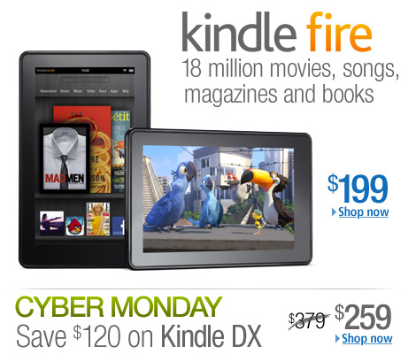 The all-new Kindle Fire, only $199