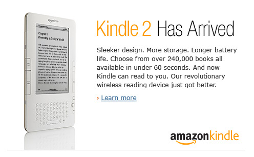 Kindle 2 Has Arrived
