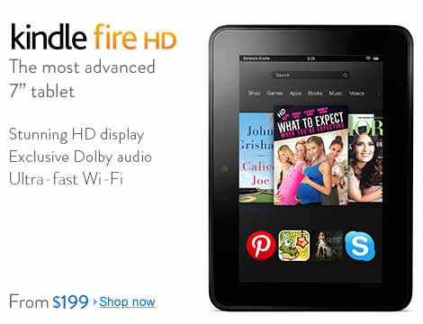 The world's most advanced 7-inch tablet: stunning HD display, exclusive Dolby audio, and ultra-fast Wi-Fi