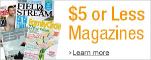 $5 or Less Magazines